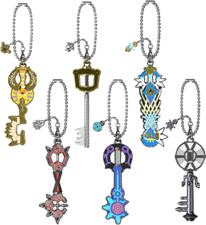 Kingdom Hearts Keyblade Collection Collectible Set