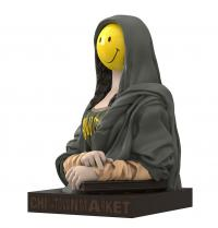 Gallery Image of The Chinatown Market Smiley Mona Lisa Vinyl Collectible