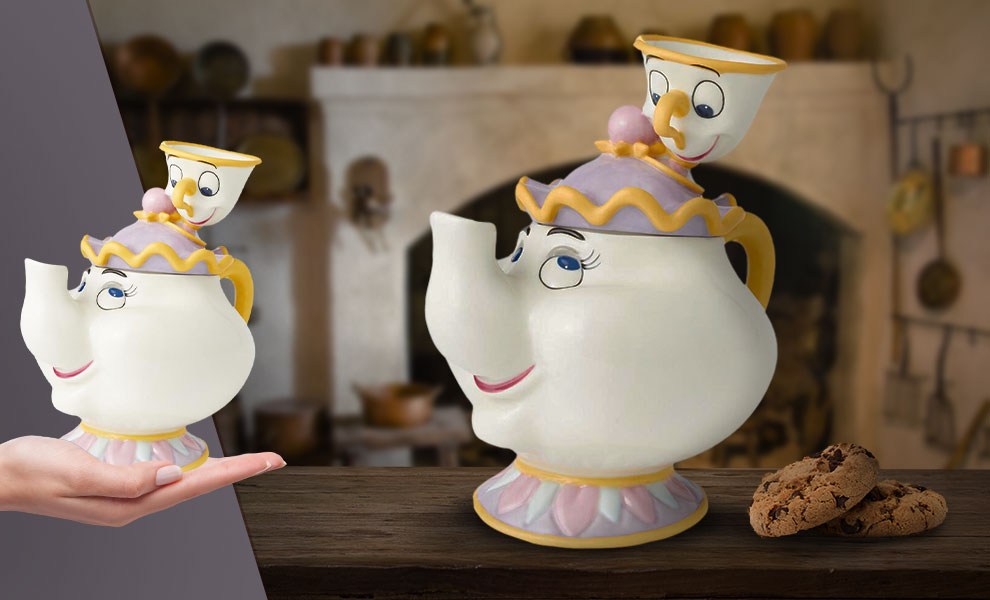 Gallery Feature Image of Mrs. Potts and Chip Cookie Jar Kitchenware - Click to open image gallery