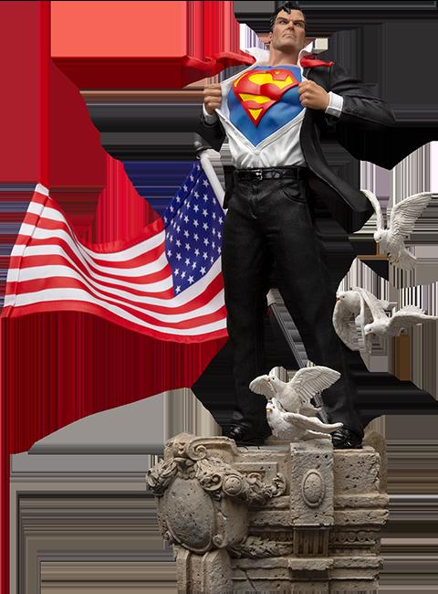 Iron Studios Clark Kent Deluxe 1:10 Scale Statue