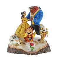 Gallery Image of Beauty and the Beast Carved by Heart Figurine