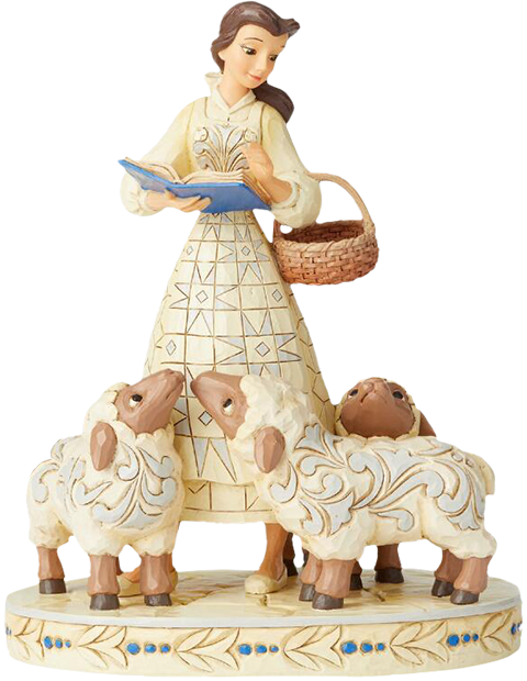 Enesco, LLC Belle White Woodland Figurine