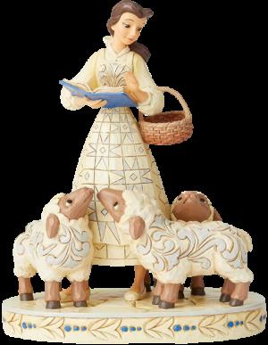 Belle White Woodland Figurine