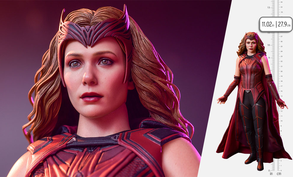 Gallery Feature Image of The Scarlet Witch Sixth Scale Figure - Click to open image gallery
