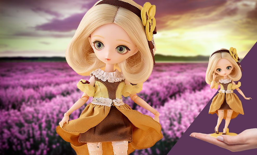 Gallery Feature Image of Harmonia Bloom Pansy Collectible Doll - Click to open image gallery