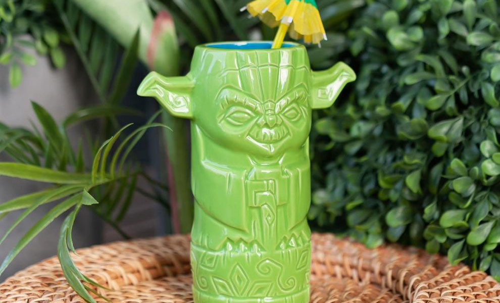 Gallery Feature Image of Yoda Tiki Mug - Click to open image gallery