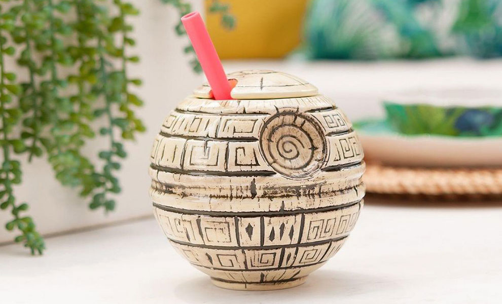 Gallery Feature Image of Death Star Tiki Mug - Click to open image gallery