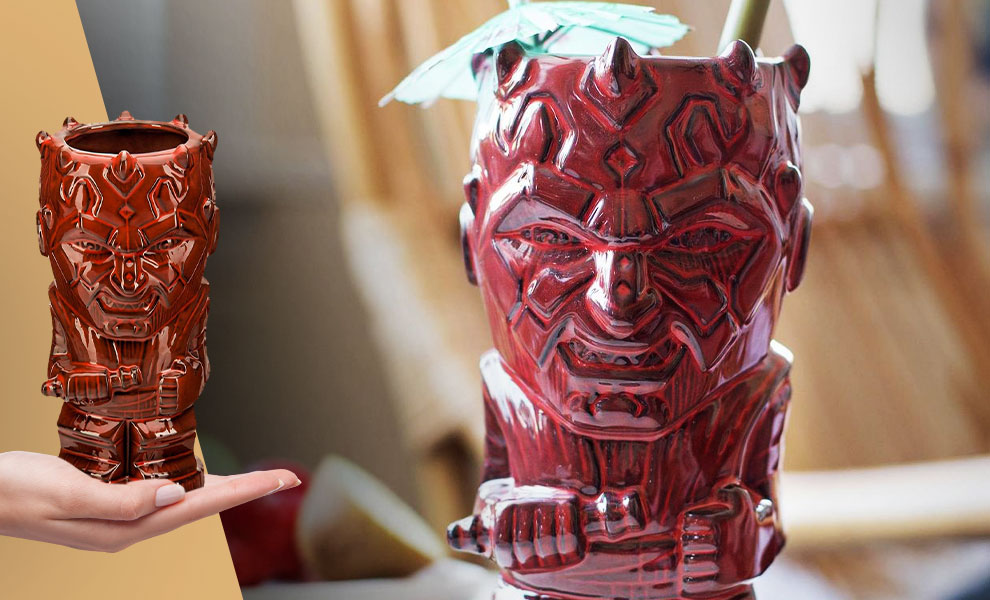 Gallery Feature Image of Darth Maul Tiki Mug - Click to open image gallery