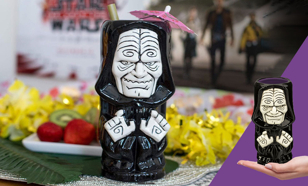 Gallery Feature Image of Emperor Palpatine Tiki Mug - Click to open image gallery