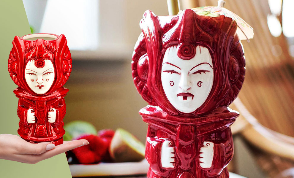 Gallery Feature Image of Queen Amidala Tiki Mug - Click to open image gallery