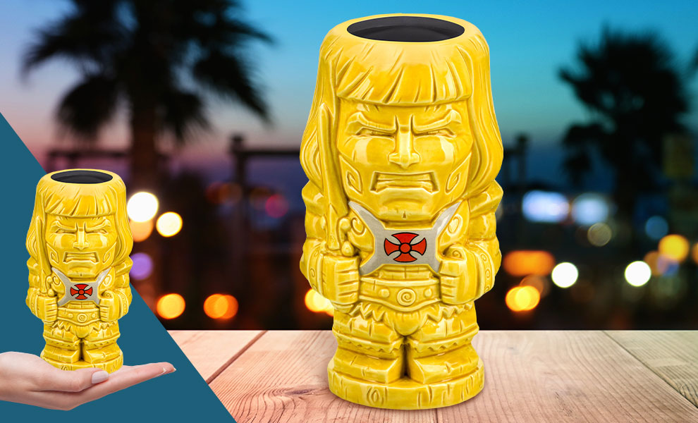 Gallery Feature Image of He-Man Tiki Mug - Click to open image gallery