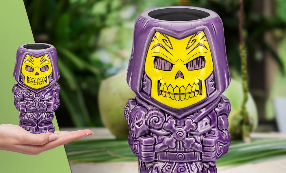 Gallery Feature Image of Skeletor Tiki Mug - Click to open image gallery