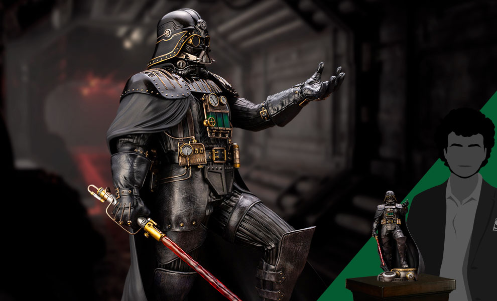 Gallery Feature Image of Darth Vader Industrial Empire Statue - Click to open image gallery