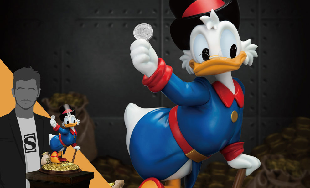 Gallery Feature Image of Scrooge McDuck Statue - Click to open image gallery