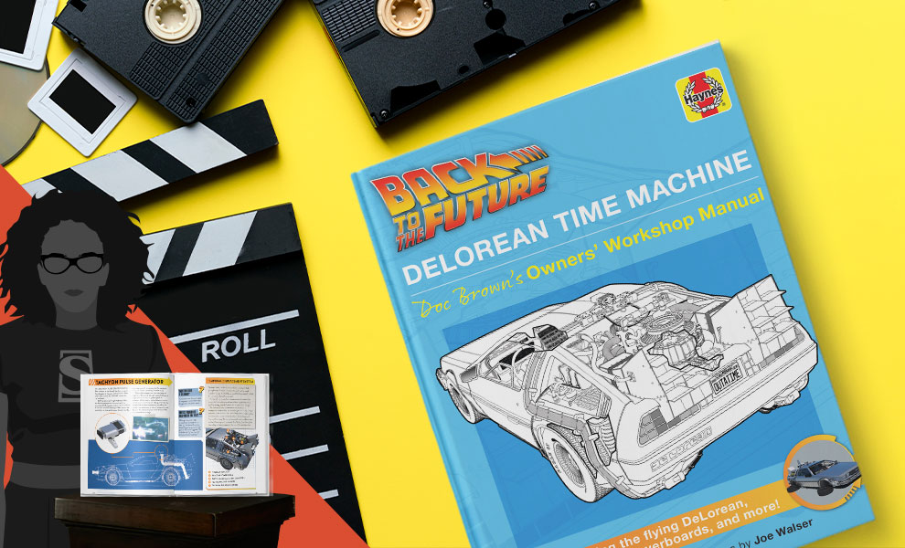 Gallery Feature Image of Back to the Future: DeLorean Time Machine Book - Click to open image gallery