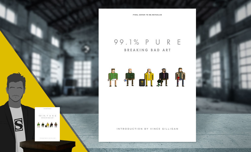 Gallery Feature Image of 99.1% Pure: Breaking Bad Art Book - Click to open image gallery