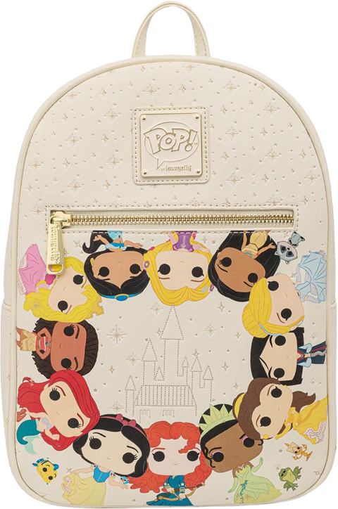 Loungefly Disney Princess Circles Mini Backpack Apparel