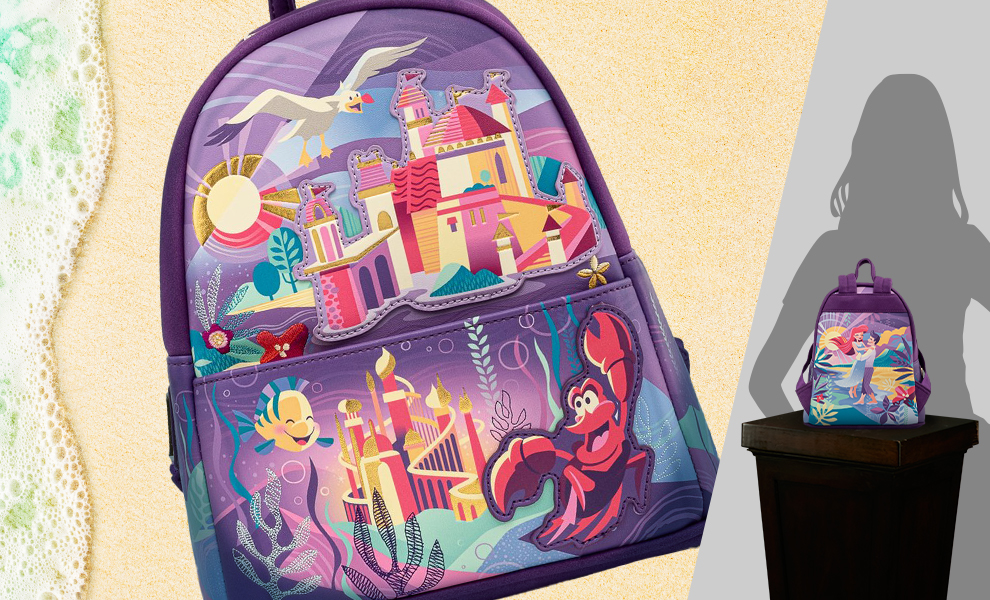 Gallery Feature Image of Ariel Castle Collection Mini Backpack Apparel - Click to open image gallery