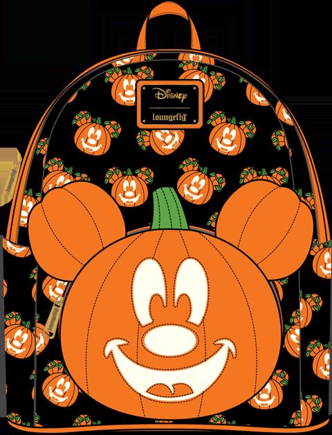 Loungefly Mickey-O-Lantern Mini Backpack Apparel