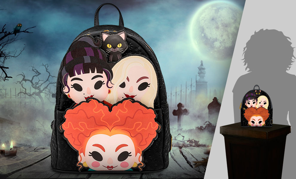 Gallery Feature Image of Sanderson Sisters Mini Backpack Apparel - Click to open image gallery
