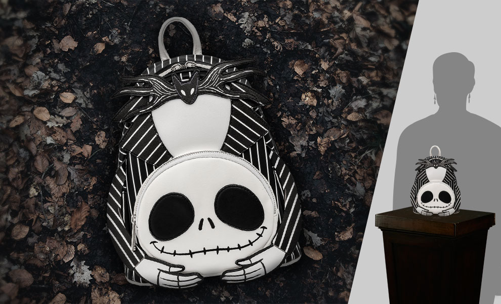 Gallery Feature Image of Headless Jack Skellington Mini Backpack Apparel - Click to open image gallery