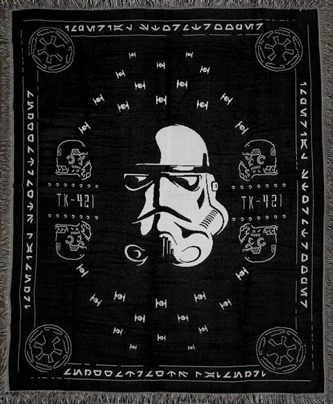 Heroes & Villains Stormtrooper Throw Blanket