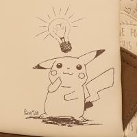 Gallery Image of Sepia Pikachu Mini Backpack Apparel