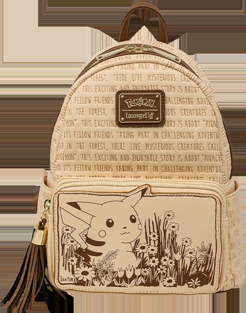 Loungefly Sepia Pikachu Mini Backpack Apparel