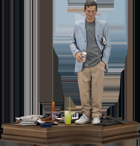 Infinite Statue Walter Matthau Statue