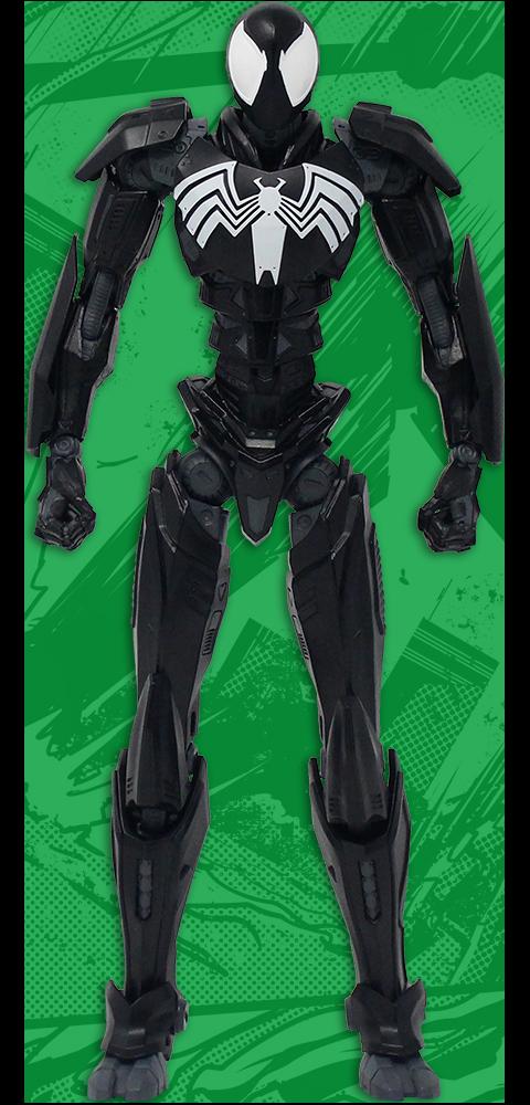 Mondo Spider-Man Mecha – Symbiote Collectible Figure