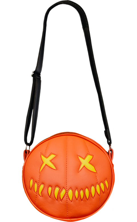Trick or Treat Studios Sam O Lantern (Yellow) Lit Purse Apparel