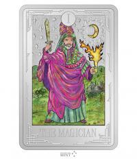 Gallery Image of The Magician 1oz Silver Coin Silver Collectible