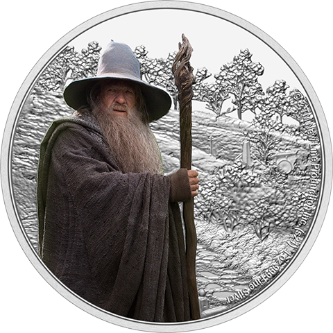 New Zealand Mint Gandalf the Grey 1oz Silver Coin Silver Collectible