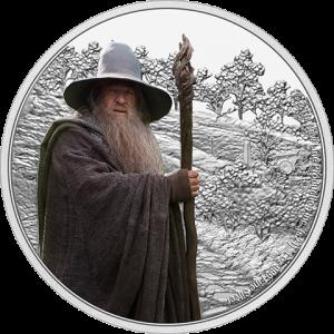 Gandalf the Grey 1oz Silver Coin Silver Collectible