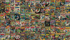 Marvel Comic Cover Wallpaper Mural Mural