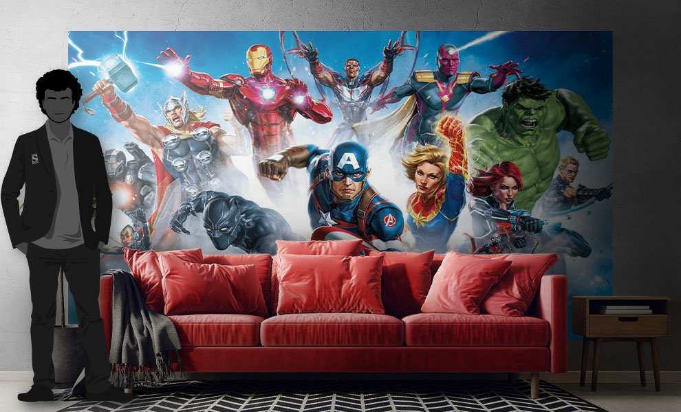 Gallery Feature Image of Avengers Gallery Art Wallpaper Mural Mural - Click to open image gallery