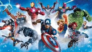 Avengers Gallery Art Wallpaper Mural Mural