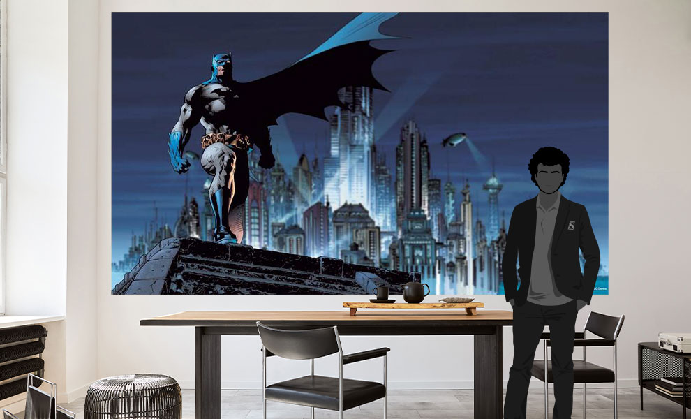 Gallery Feature Image of Batman XL Wallpaper Mural Mural - Click to open image gallery