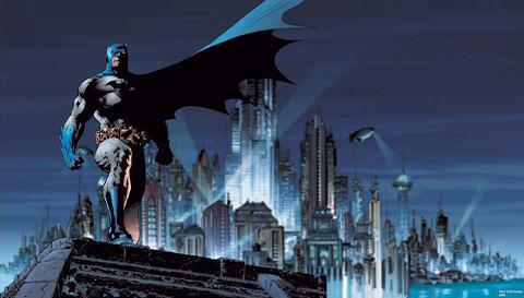 RoomMates Batman XL Wallpaper Mural Mural