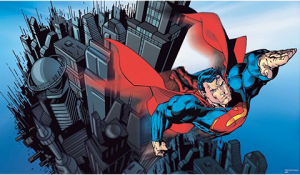 Superman XL Wallpaper Mural Mural