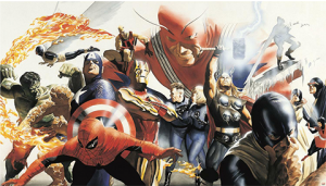 Marvel Alex Ross Wallpaper Mural Mural