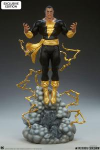 Gallery Image of Black Adam Maquette