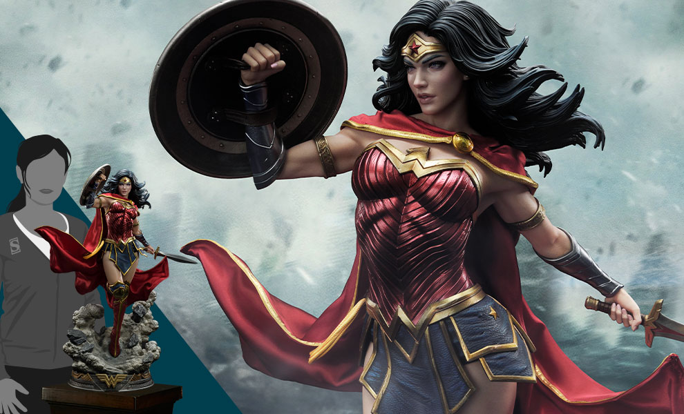 Gallery Feature Image of Wonder Woman (Rebirth Edition) 1:3 Scale Statue - Click to open image gallery