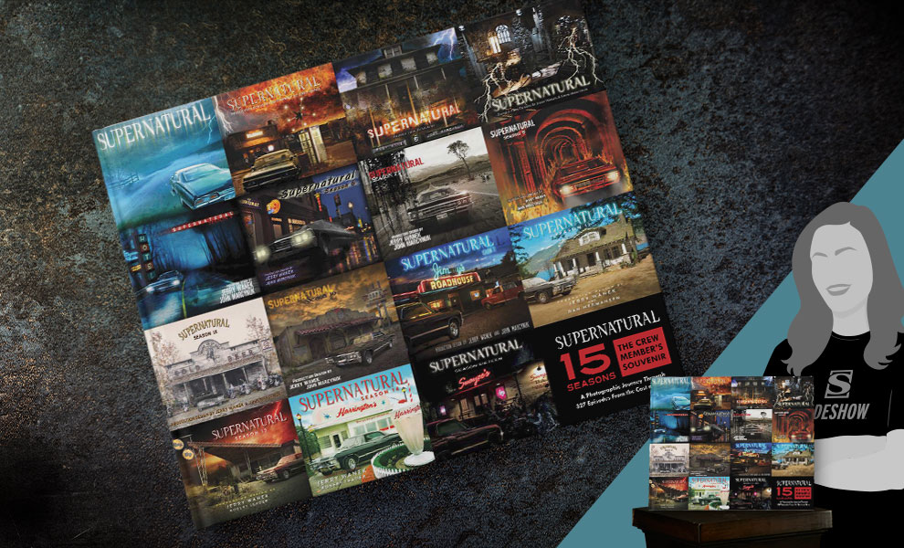 Gallery Feature Image of Supernatural 15 Seasons: The Crew Member's Souvenir Book - Click to open image gallery