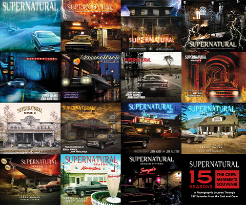 Insight Editions Supernatural 15 Seasons: The Crew Member's Souvenir Book