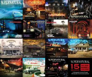 Supernatural 15 Seasons: The Crew Member's Souvenir Book