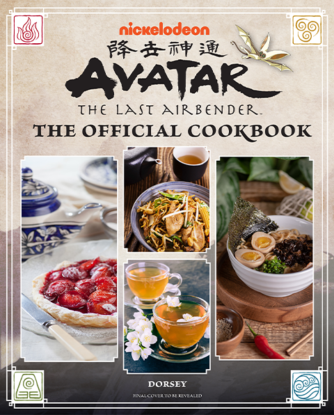Insight Editions Avatar: The Last Airbender Cookbook Book