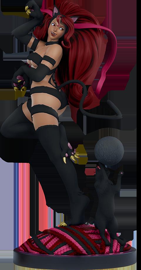 PCS Menat as Felicia: Player 2 Statue