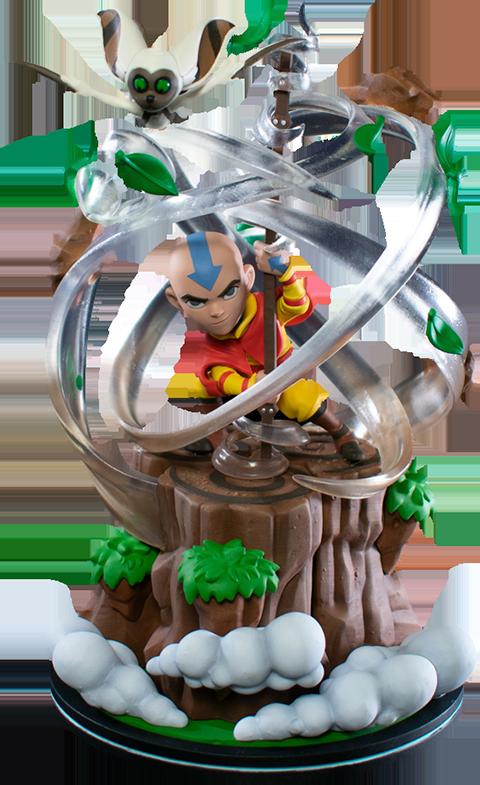 Quantum Mechanix Aang Q-Fig Max Elite Collectible Figure