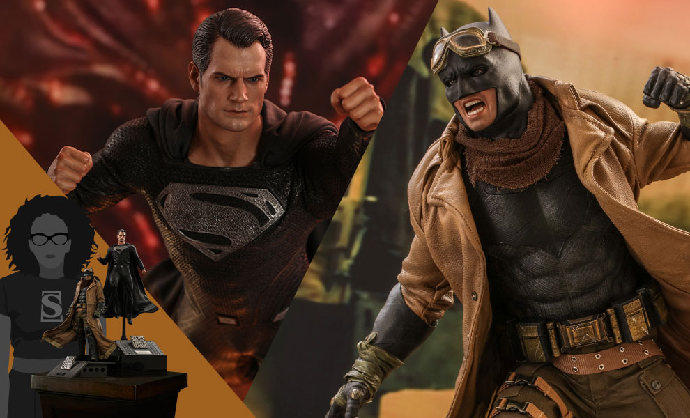 Gallery Feature Image of Knightmare Batman and Superman Sixth Scale Figure Set - Click to open image gallery